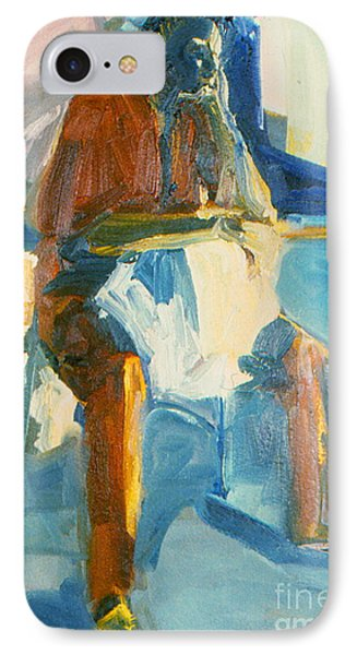IPhone Case featuring the painting Ernie by Daun Soden-Greene