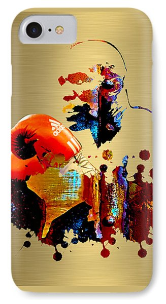 Evander Holyfield Collection IPhone Case by Marvin Blaine