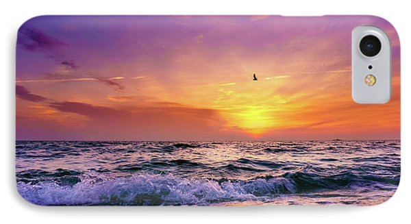 IPhone Case featuring the photograph Evening Flight by Dmytro Korol