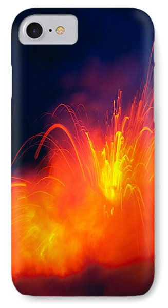 Exploding Lava Phone Case by Greg Vaughn - Printscapes