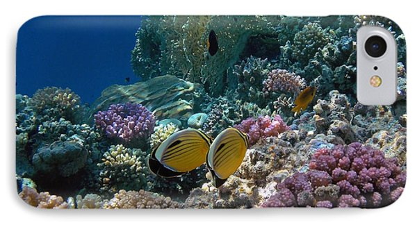 Exquisite Butterflyfish In The Red Sea IPhone Case