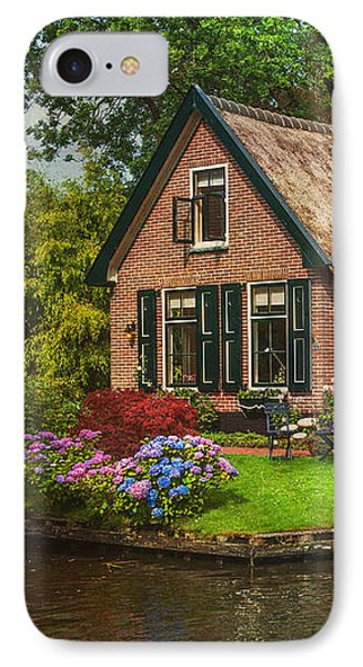 Fairytale House. Giethoorn. Venice Of The North IPhone Case by Jenny Rainbow
