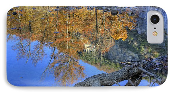 Fall Color At Big Bluff Phone Case by Michael Dougherty