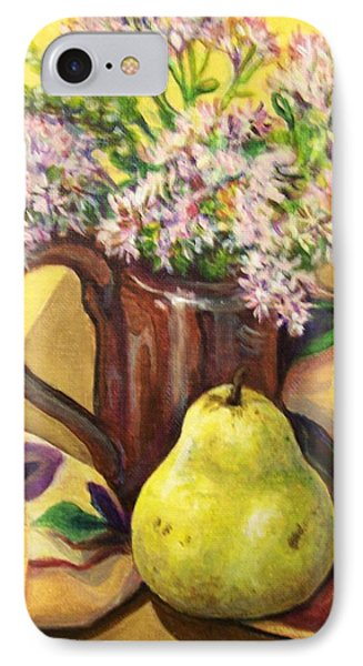 IPhone Case featuring the painting Fall Still Life by Laura Aceto