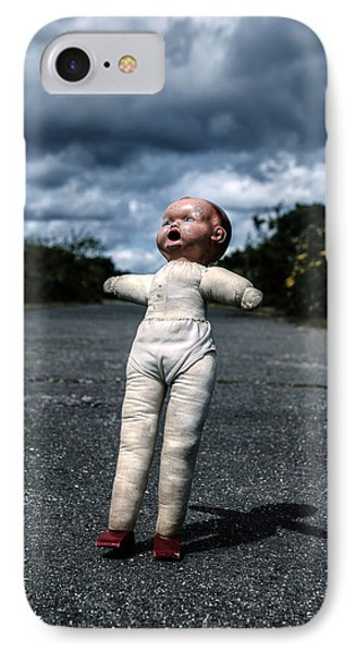 Falling Doll IPhone Case