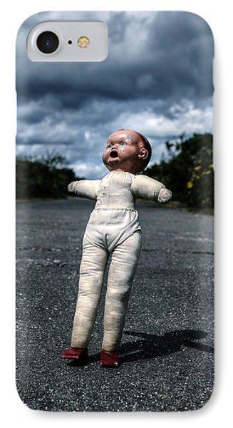Falling Doll IPhone Case by Joana Kruse