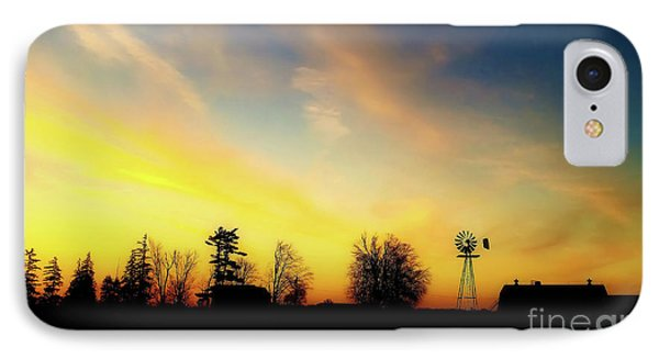 Farmers Sunset IPhone Case by Anthony Djordjevic