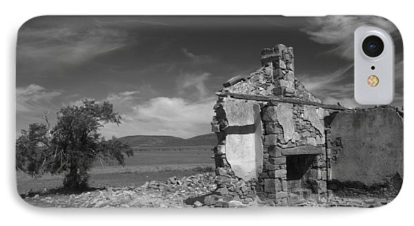 Farmhouse Cottage Ruin Flinders Ranges South Australia IPhone Case by Ralph A  Ledergerber-Photography