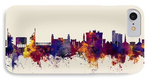 Fayetteville Arkansas Skyline IPhone Case