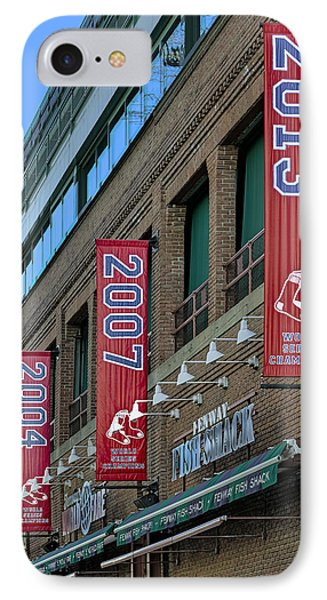 Fenway Boston Red Sox Champions Banners IPhone Case