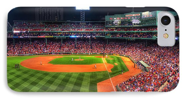 Fenway Park At Night - Boston IPhone Case by Joann Vitali