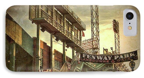 Fenway Park - Lansdowne Street - Boston IPhone Case by Joann Vitali
