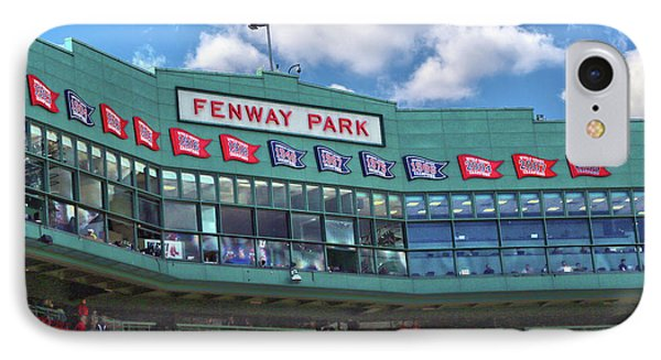 IPhone Case featuring the photograph Fenway Park by Mitch Cat