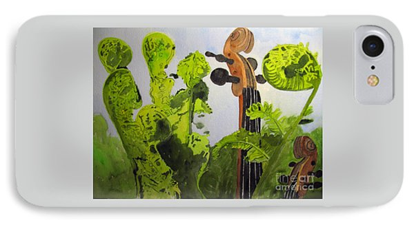 Fiddleheads IPhone Case by Sandy McIntire