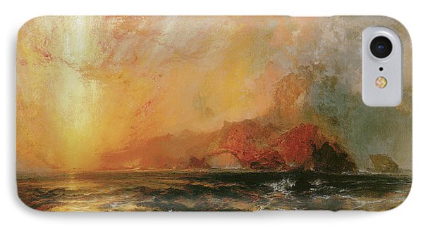 Fiercely The Red Sun Descending Burned His Way Along The Heavens IPhone Case