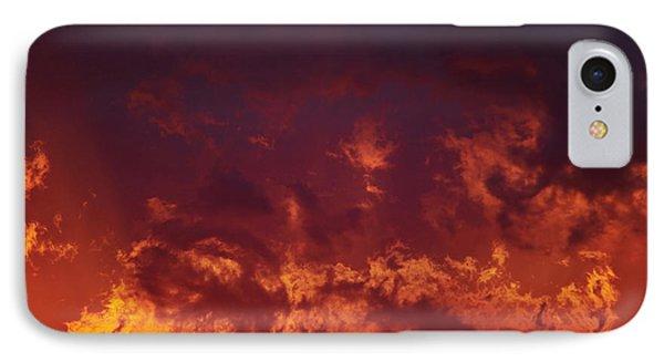 Fiery Clouds Phone Case by Michal Boubin