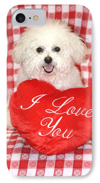 Fifi Loves You Phone Case by Michael Ledray