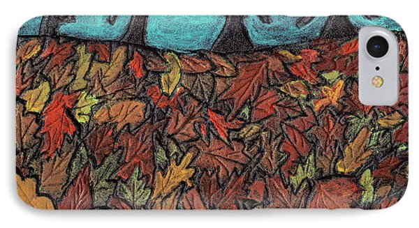 Finding Autumn Leaves Phone Case by Wayne Potrafka