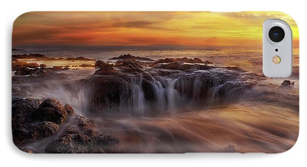 Fire And Water Phone Case by David Gn