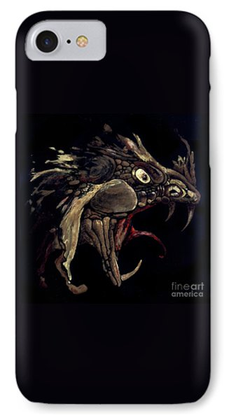 Fire Dragon Phone Case by Liz Molnar