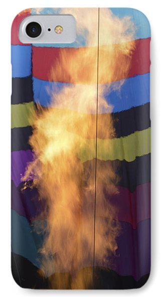 IPhone Case featuring the photograph Firing Up by Linda Geiger
