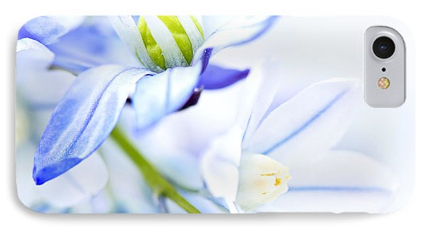 First Spring Flowers IPhone Case by Elena Elisseeva