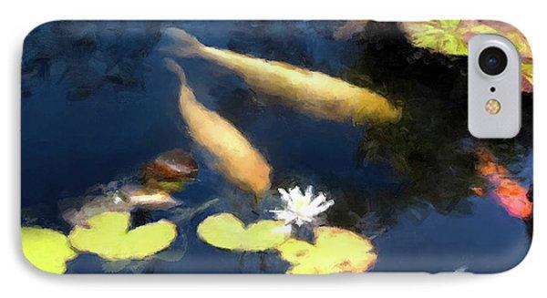 Fish Pond IPhone Case