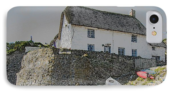 IPhone Case featuring the photograph Fishermans Cottage by Brian Roscorla