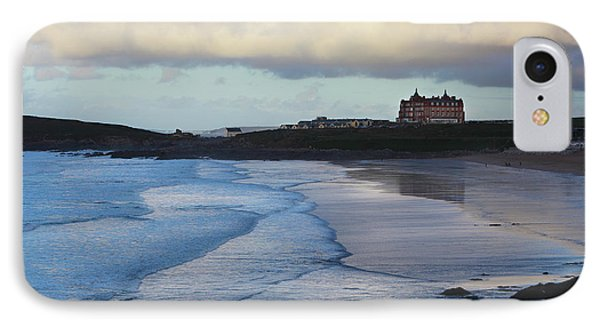 IPhone Case featuring the photograph Fistral Beach by Nicholas Burningham