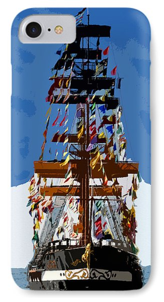 Flags Of Gasparilla IPhone Case by David Lee Thompson