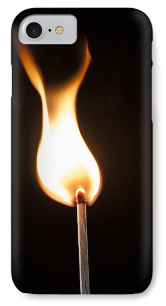 Flame IPhone Case by Tyson and Kathy Smith