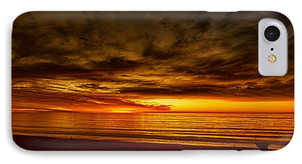 Flaming Sunset IPhone Case by Joseph Hollingsworth