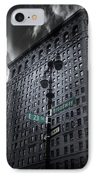 IPhone 7 Case featuring the photograph Flatiron Noir by Jessica Jenney