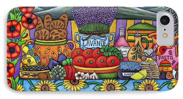 Flavours Of Provence Phone Case by Lisa  Lorenz