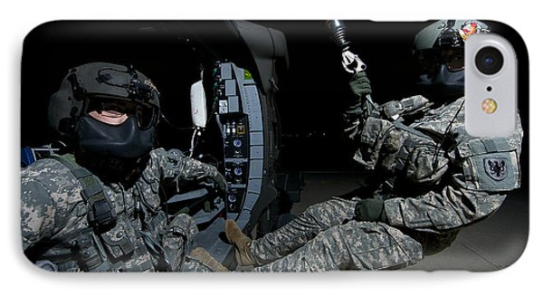 Flight Medics Practice With The Uh-60 IPhone Case