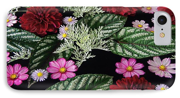 IPhone Case featuring the photograph Floating Flower Bouquet by Byron Varvarigos