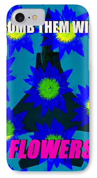 Flower Power IPhone Case by David Lee Thompson
