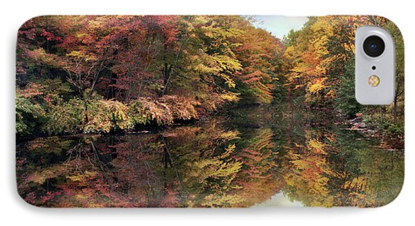 IPhone Case featuring the photograph Foliage Reflections by Jessica Jenney
