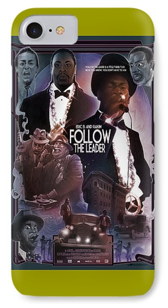 Follow The Leader 2 IPhone Case by Nelson Dedos Garcia