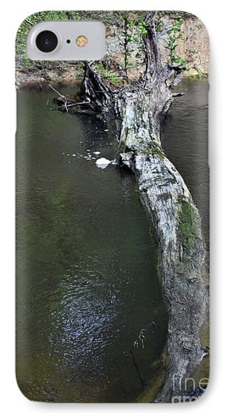 IPhone Case featuring the photograph Footbridge by Skip Willits