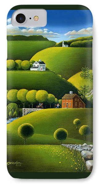 Foothills Of The Berkshires Phone Case by John Deecken