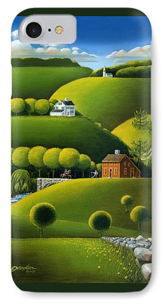 Foothills Of The Berkshires IPhone Case