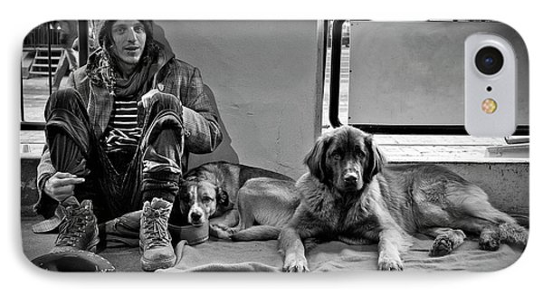 IPhone Case featuring the photograph For The Love Of Dog by Sonny Marcyan
