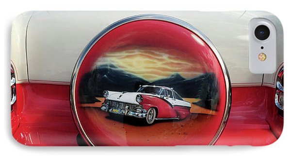 Ford Fairlane Rear IPhone Case by Dave Mills