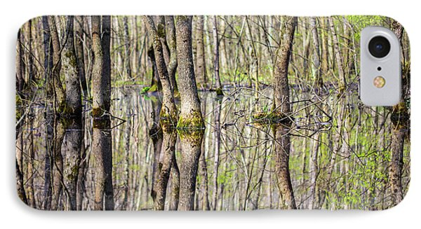 Forest In The Swamp IPhone Case by Catalin Petolea
