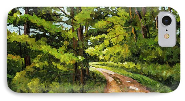 Forest Pathway IPhone Case by Alexandra Maria Ethlyn Cheshire