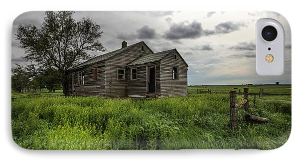 Forgotten On The Prairie IPhone Case by Aaron J Groen