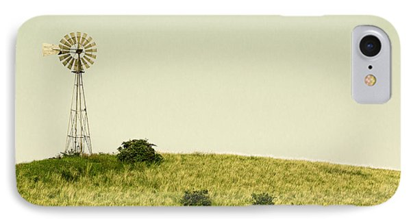 Forlorn Windmill IPhone Case by Todd Klassy