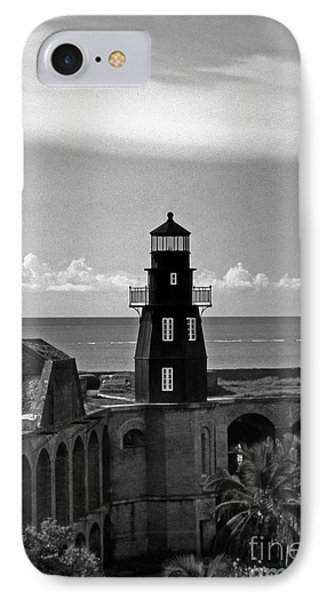 Fort Jefferson Lighthouse IPhone Case