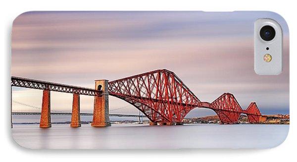 Forth Railway Bridge IPhone Case by Grant Glendinning